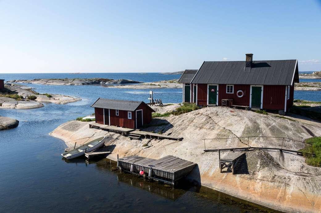 Stockholm szigetcsoport Svédország (12×8)