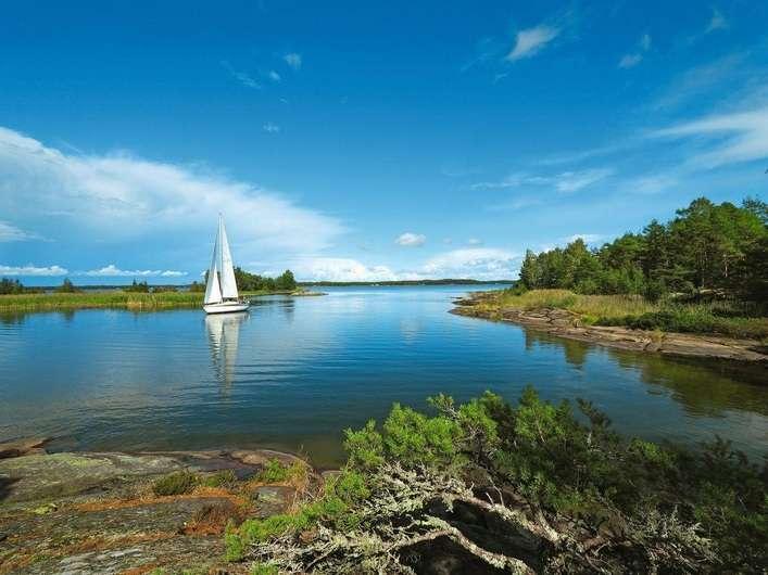 Vänern-tó Svédországban (10×8)
