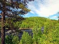 Peisajul Varmland în Suedia