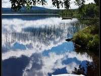 Peisajul Varmland Upplunden din Suedia
