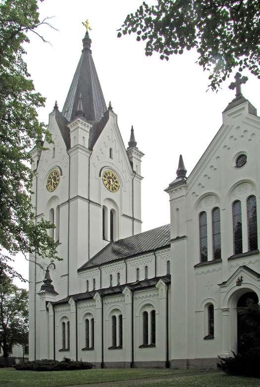 Vasteras templom Svédországban (7×11)