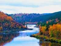 Őszi táj Finnországban