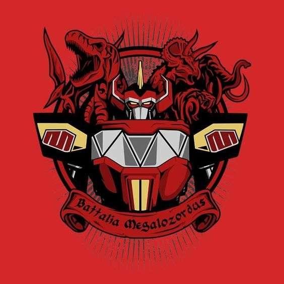 power Rangers - Power Rangers - Anime (2×2)