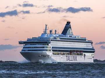 Prom z Helsinek do Tallina - Prom z Helsinek do Tallina