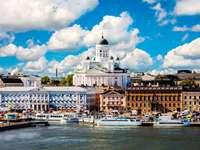 Helsinki városkép Finnország