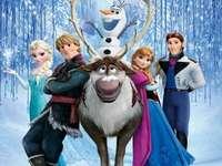 todos os personagens congelados