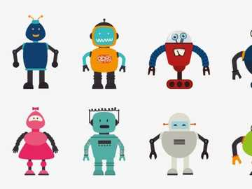 Amazing Robots - Assemble the robots and have fun