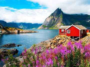 фиорди в Норвегия - м ...................