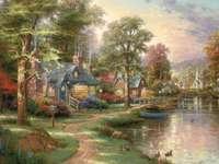 Σπίτι δίπλα στη λίμνη