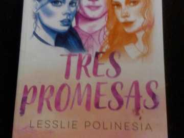 TRZY OBIETNICE LESSLIE POLINEZJI - Najlepsza powieść polinezyjska stworzona przez lesslie