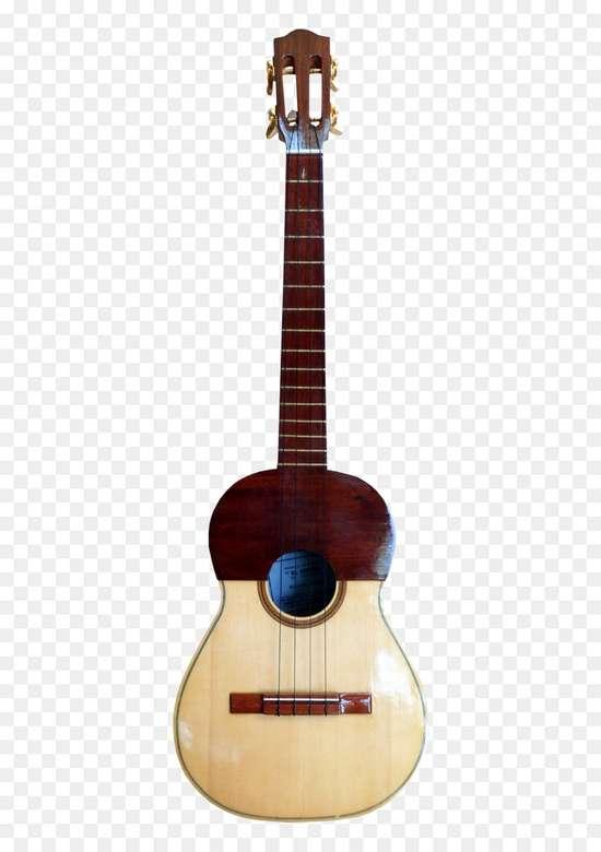 Instrumentul Patru - Cuatro este un instrument cu patru coarde și este solistul Gaitei Zuliana.