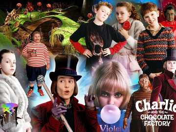 Charlie and The Chocolate Factory- Puzzle! - Enjoy solving this puzzle of a picture from the movie 'Charlie and The Chocolate Factory'!