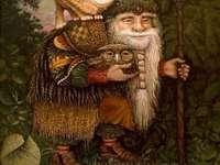 L'ami des animaux - L'ami des animaux se promène dans les bois