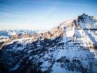 munte acoperit de zăpadă în timpul zilei - Lötschental - Lauchernalp - Hockenhorn. Lauchernalp, Lötschental, Wallis, Elveția