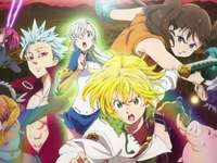the 7 deadly sins - anime puzzle for otakus