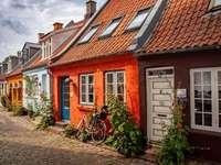 Cidade de Aarhus na Dinamarca