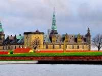 Helsingfors stad i Kronborg slott i Danmark