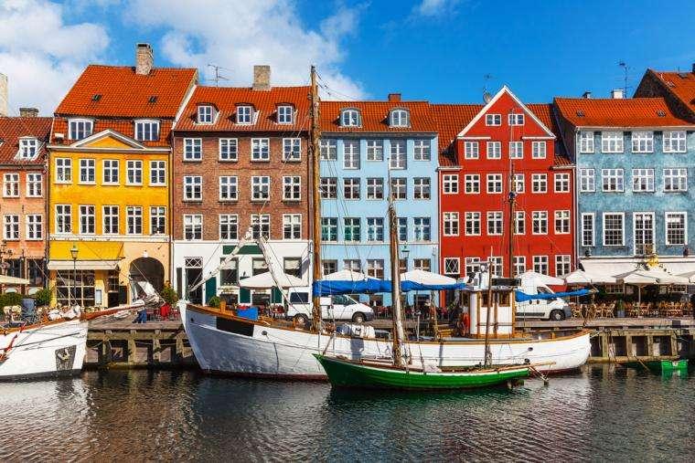 Copenhague en Dinamarca (13×9)