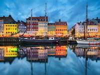 Copenhague na Dinamarca