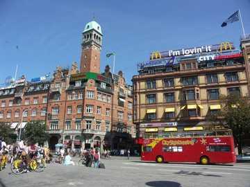 Zwiedzanie Kopenhagi w Danii - Zwiedzanie Kopenhagi w Danii
