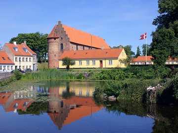 Nyborg city in Denmark - Nyborg city in Denmark