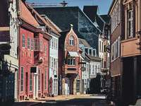 Ville d'Odense au Danemark