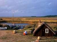 Fiordo di Ringkobing Danimarca - Fiordo di Ringkobing Danimarca