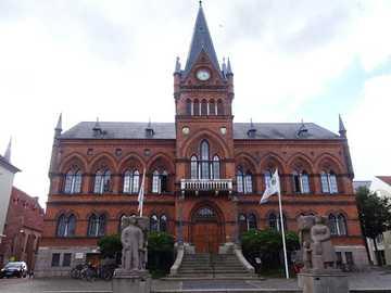 Vejle Town Hall in Denmark - Vejle Town Hall in Denmark