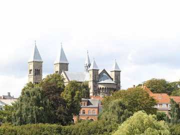Viborg cathedral city in Denmark - Viborg cathedral city in Denmark