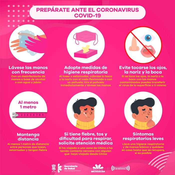 coronavirus - virus som kan vara mycket farligt (9×9)