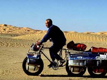 Fahrrad für Wüstenausflüge - m ...................