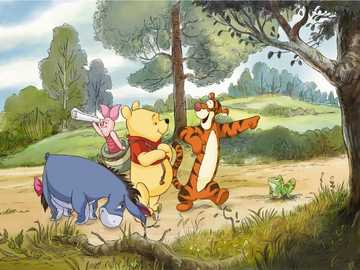 winnie the pooh and friends - m ....................