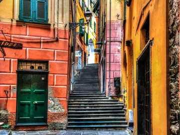 italy- tenement house - m ....................