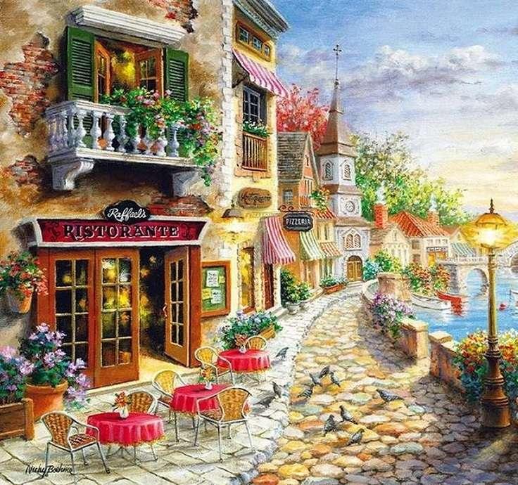 Promenade. - Landscape puzzle.