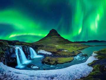 Northern lights in Iceland - Northern lights in Iceland