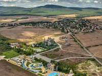 ravadinovo - paysage - ravadinovo - paysage - champ, montagne, ciel ...
