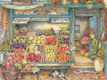 Owoce i warzywa - Sklep z owocami i warzywami