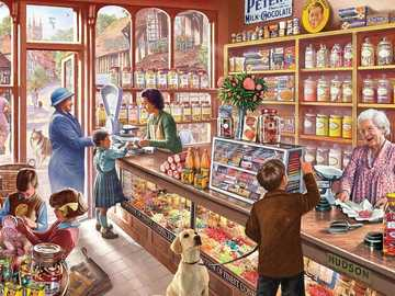 Old Candy Shop - Old Candy and Sweets Store