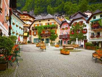 górna austria- miasteczko - m......................