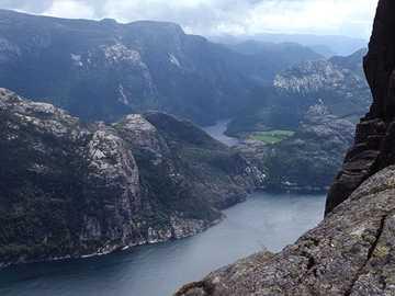 Norway Preikestolen - Norway Preikestolen