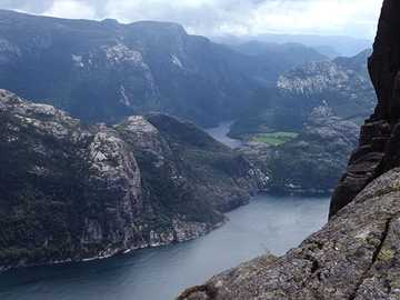 Norvège Preikestolen - Norvège Preikestolen