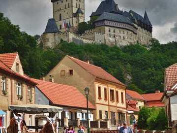 Karlstejn Castle in Karlstejn, Czech Republic - Karlstejn Castle in Karlstejn, Czech Republic