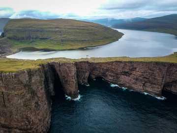 Inland sea in the Faroe Islands - Inland sea in the Faroe Islands