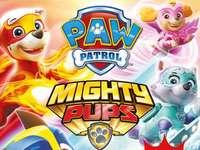 paw patrol machtige pups paw patrol puzzel