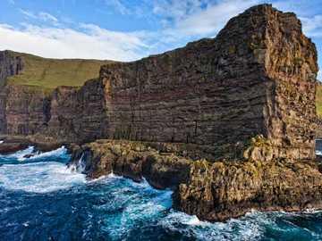 Küsten der Inseln Färöer - Küsten der Inseln Färöer