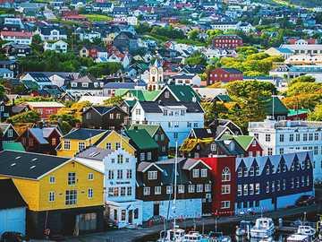 Torshavn city on Faroe Islands - Torshavn city on Faroe Islands