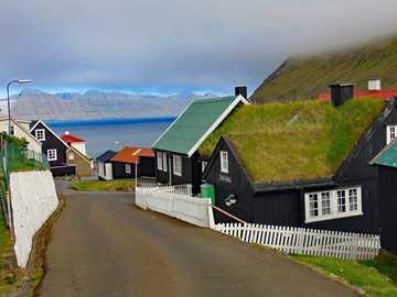 Miasto Torshavn na Wyspach Owczych - Miasto Torshavn na Wyspach Owczych