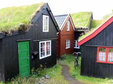 Torshavn old town Faroe Islands - Torshavn old town Faroe Islands