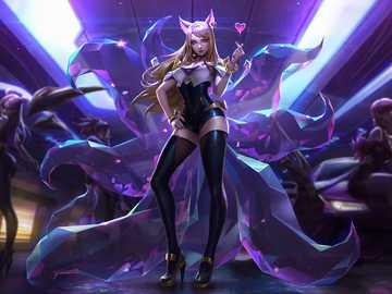 Ahri Liga der Legenden - Hallo, ich liebe Anime, also unterrichte