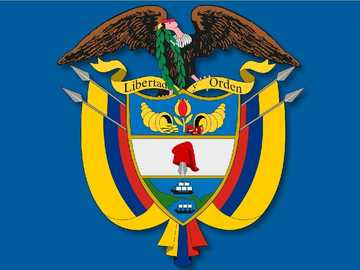 COLOMBIA'S SHIELD - THIS is the National Shield of the Republic of Colombia